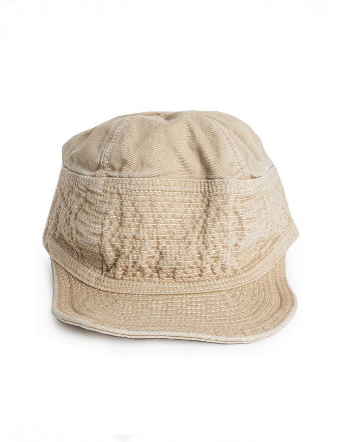 Cappello Kapital in denim beige EK-185 BEIGE cappelli online shopping