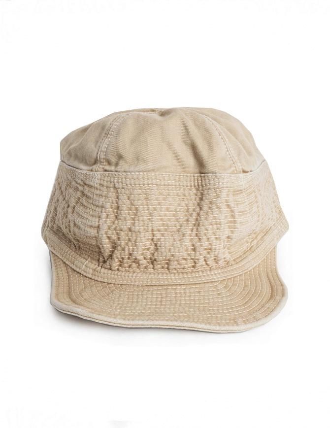 Kapital cap in beige denim EK-185 BEIGE hats and caps online shopping
