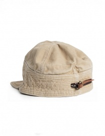 Kapital cap in beige denim