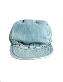 Cappello Kapital in jeans azzurro online