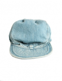 Hats and caps online: Kapital cap in light blue jeans