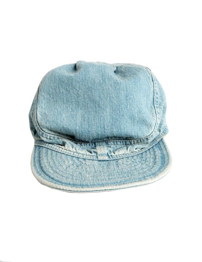 Cappello Kapital in jeans azzurro K63XH274 cappelli online shopping