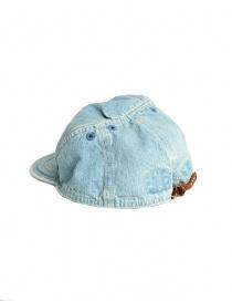Cappello Kapital in jeans azzurro prezzo