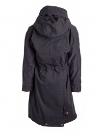 Kapital coat in black cotton