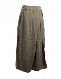 Kapital skirt pants in hemp with drawstring