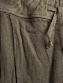 Kapital skirt pants in hemp with drawstring price