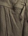 Kapital skirt pants in hemp with drawstring EK-597 KHA price