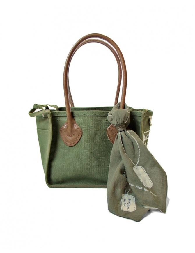 Kapital khaki green bag K1703XB500 KHA bags online shopping