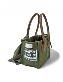 Kapital khaki green small bag