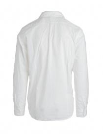 Camicia bianca Kapital con plissettatura