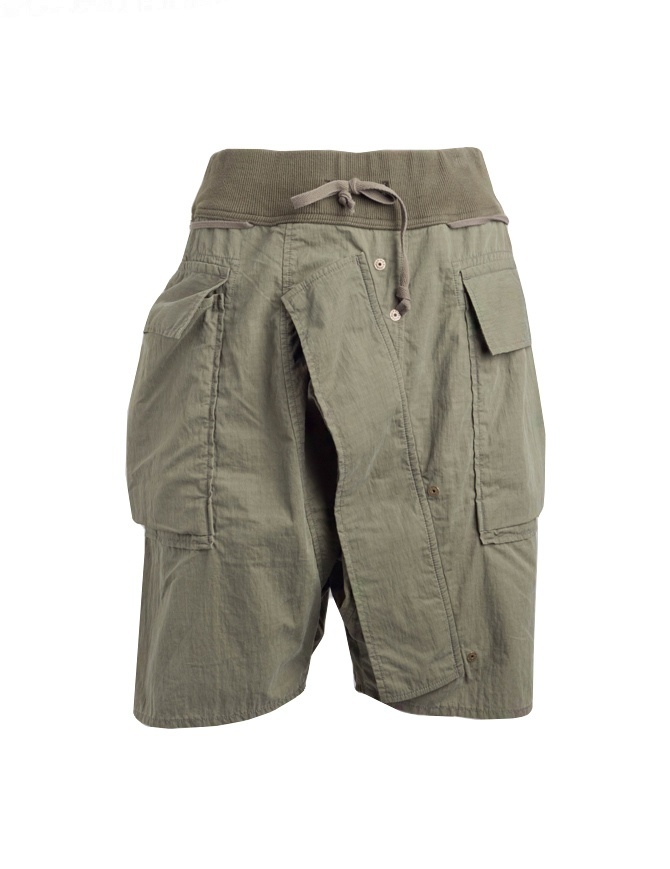 Bermuda Kapital colore khaki K1805SP222 KHAKI SHORTS pantaloni uomo online shopping