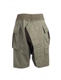 Kapital khaki bermuda shorts