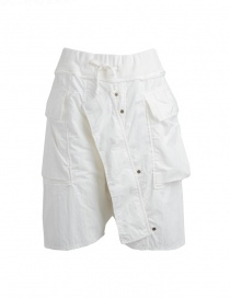 Bermuda Kapital colore bianco in cotone online