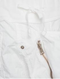 Bermuda Kapital colore bianco in cotone prezzo