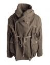 Kapital coat in khaki wool blend buy online EK-487 KHAKI