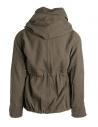 Kapital coat in khaki wool blend shop online mens coats