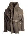Kapital coat in khaki wool blend EK-487 KHAKI price