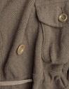 Kapital coat in khaki wool blend EK-487 KHAKI buy online