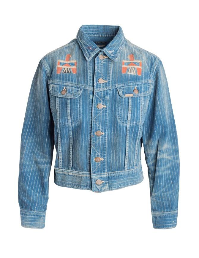 Giubbino in jeans Kapital KOR610LJ10 IDG giubbini donna online shopping