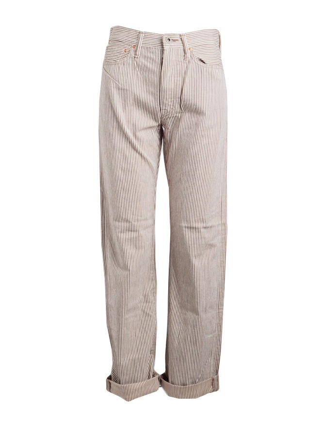 Kapital brown striped trousers K81LP102 KAPITAL
