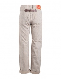 Pantalone Kapital a righe marroni acquista online