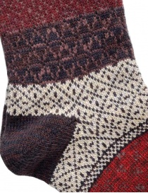 Kapital Burgundi socks red