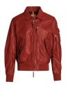 Parajumpers Brigadier bomber rosso acquista online PMJCKLE01 BRIGADIER LEA RED