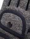 Guanti Kapital in pelle e cotone con taschini K1711XG624 CHARCOAL GLOVES prezzo
