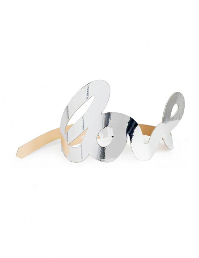 Cintura Miyao Love Silver MP-BL-01 SILVER cinture online shopping