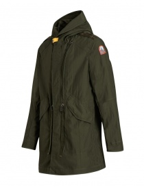 Parka Parajumpers Gregory Spring colore verde