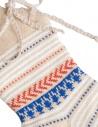 Kapital ecru socks with laces shop online socks