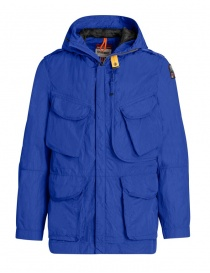 Giacca Parajumpers Dubhe colore blu royal PMJCKSY03 DUBHE 516 ROYAL