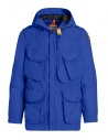 Giacca Parajumpers Dubhe colore blu royal acquista online PMJCKSY03 DUBHE 516 ROYAL
