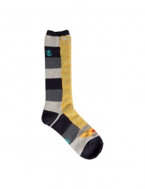 Kapital black socks with yellow dachshund dog