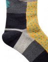 Kapital black socks with yellow dachshund dog K1711XG614 BLACK SOCKS price