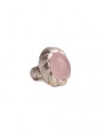 Anello spirale ElfCraft con quarzo rosa online