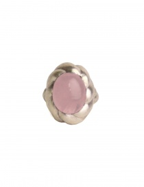 ElfCraft spiral ring with rose quarz buy online