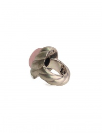 ElfCraft spiral ring with rose quarz price