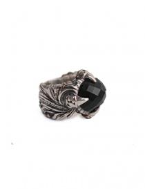 Anello ElfCraft con pietra zirconia nera online