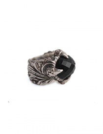 ElfCraft ring with black zirconia stone online