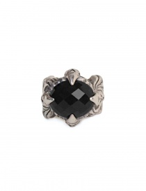 ElfCraft ring with black zirconia stone