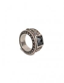 Anello ElfCraft in argento con zirconia nera prezzo