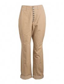 Pantaloni uomo online: Pantalone Kapital beige chiusura a bottoni