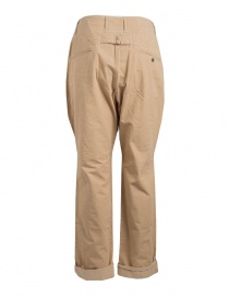 Kapital beige trousers with button closure buy online