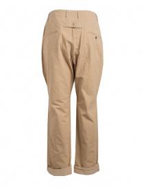 Pantalone Kapital beige chiusura a bottoni