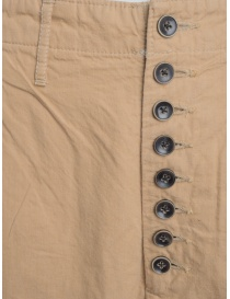 Kapital beige trousers with button closure price