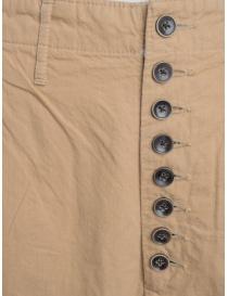 Pantalone Kapital beige chiusura a bottoni prezzo