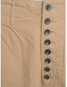 Kapital beige trousers with button closure K74LP162 KAPITAL price