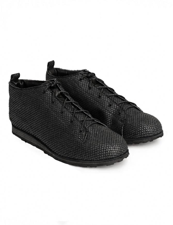 Scarpe Petrosolaum intrecciate blu 8185-PTR2 UPHEAVAL WEDGE TR LOW calzature uomo online shopping