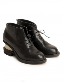Womens shoes online: Petrosolaum shoes with wooden heel
